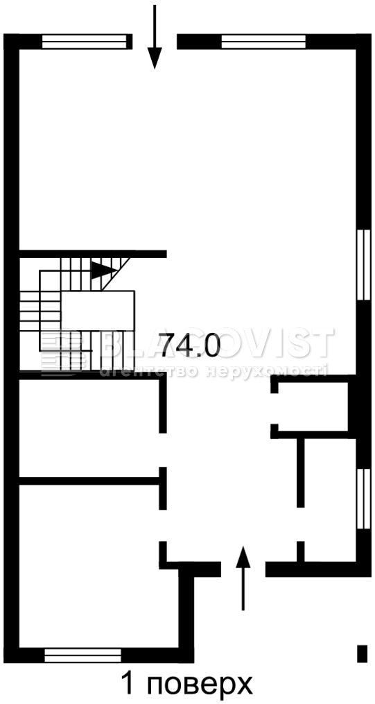 Дом H-49993, Барвинковая, Гатное - Фото 2