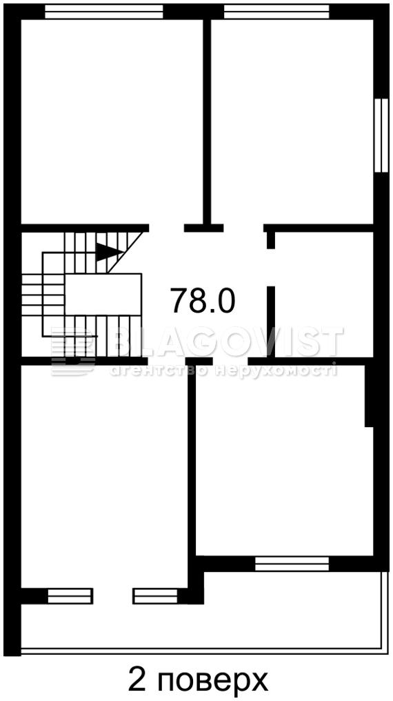 Дом H-49993, Барвинковая, Гатное - Фото 3