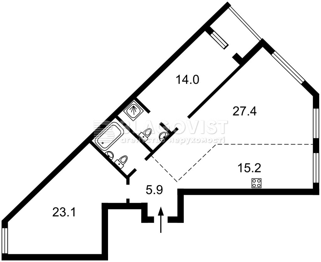 Квартира E-40941, Победы просп., 67, Киев - Фото 4