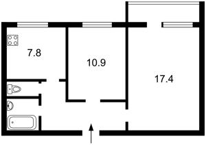 Квартира A-106237, Вышгородская, 38, Киев - Фото 2