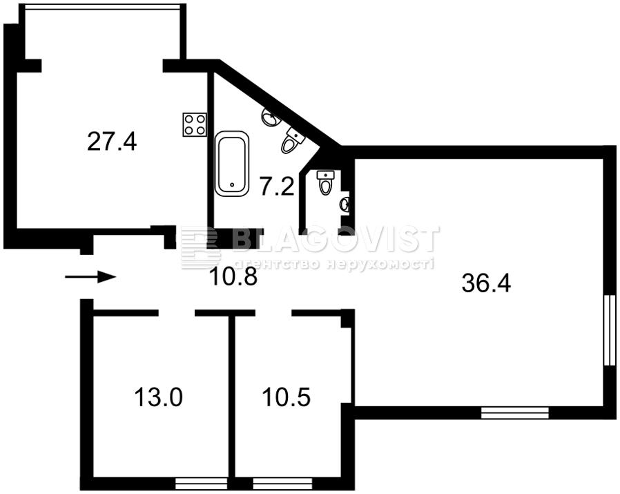 Квартира R-13914, Ярославов Вал, 19, Киев - Фото 5