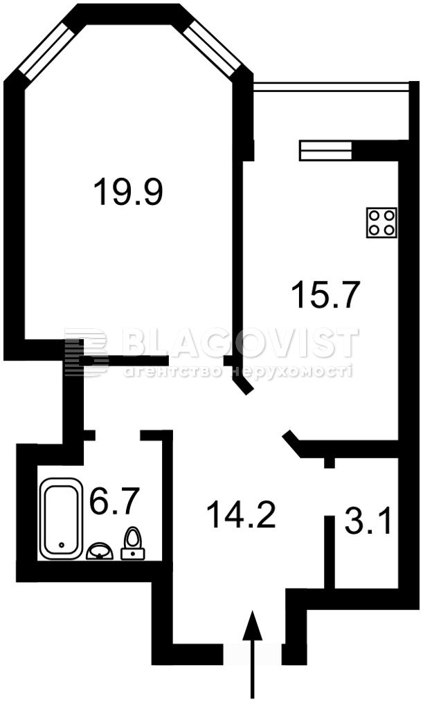 Квартира H-50015, Амосова Николая, 2, Киев - Фото 2
