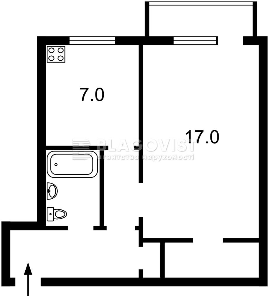 Квартира Z-695878, Гавела Вацлава бульв. (Лепсе Ивана), 57/38, Киев - Фото 3