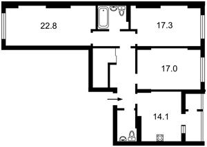 Квартира Багговутовская, 17-21, Киев, Z-776689 - Фото2