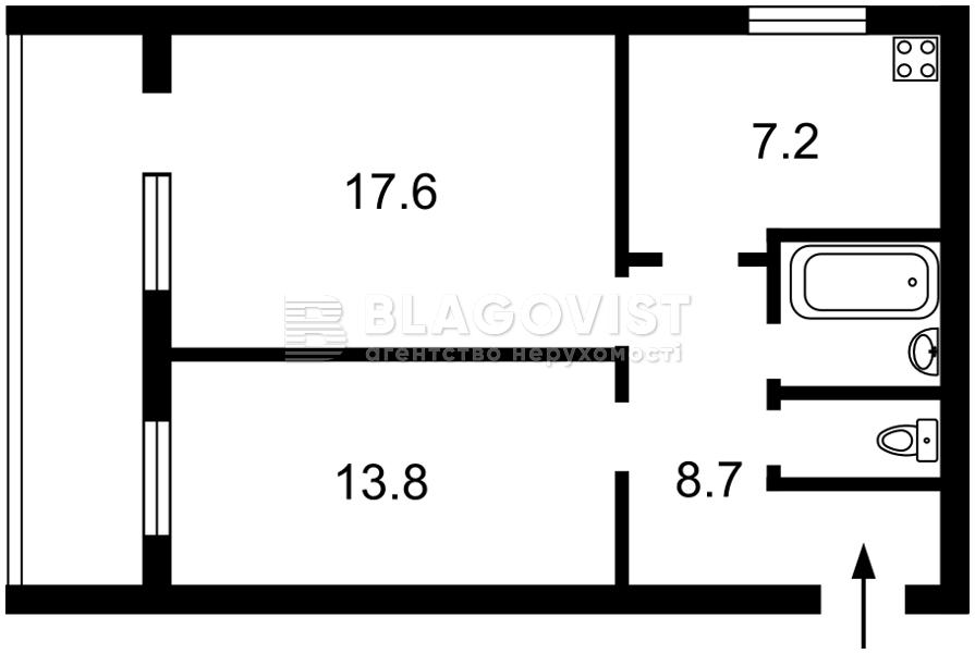 Квартира C-109356, Чешская, 6, Киев - Фото 2