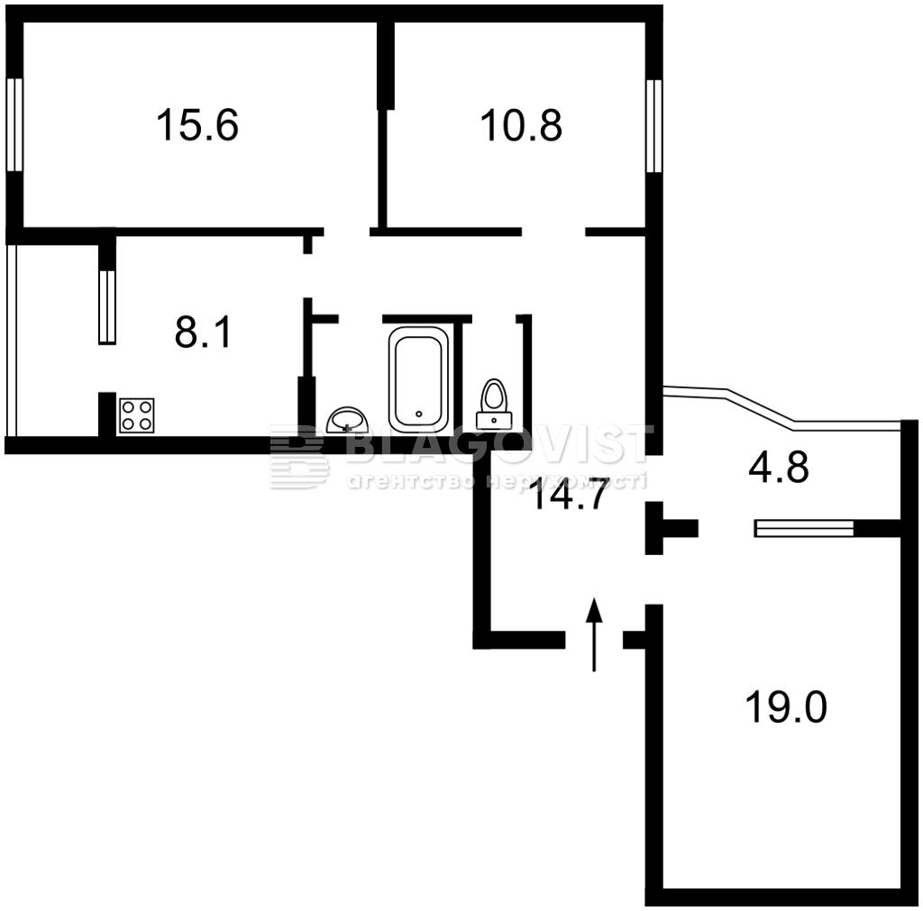 Квартира R-38648, Урловская, 23, Киев - Фото 6