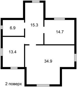 Будинок Кобилянської Ольги, Нове, E-41002 - Фото 3