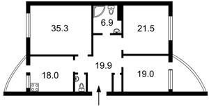 Квартира Кольцова бульв., 14д, Киев, Z-772650 - Фото2
