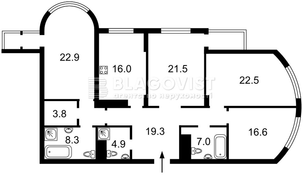 Квартира H-50054, Шевченко Тараса бульв., 27б, Киев - Фото 6