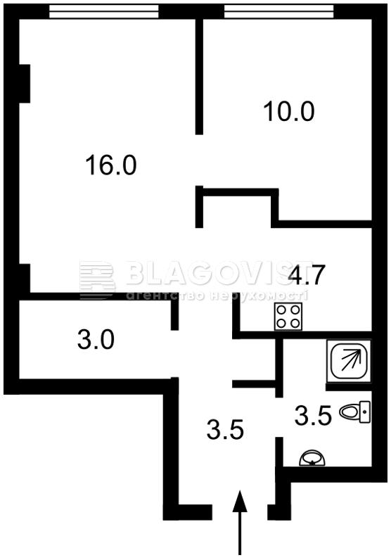 Квартира H-50087, Жилянская, 68, Киев - Фото 4