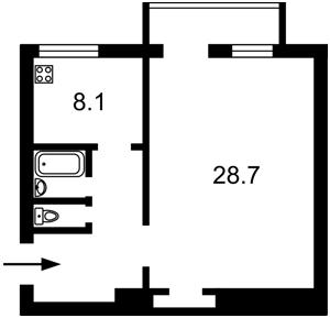 Квартира Андреевский спуск, 2б, Киев, F-44930 - Фото2
