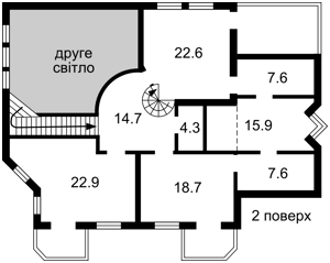 Будинок Старокиївська, Козин (Конча-Заспа), F-44938 - Фото 4