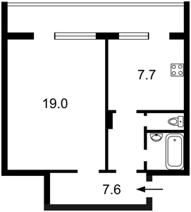 Квартира Героев Сталинграда просп., 40, Киев, R-38188 - Фото2