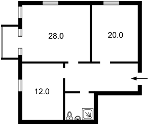 Квартира Костьольна, 9, Київ, R-33348 - Фото 2