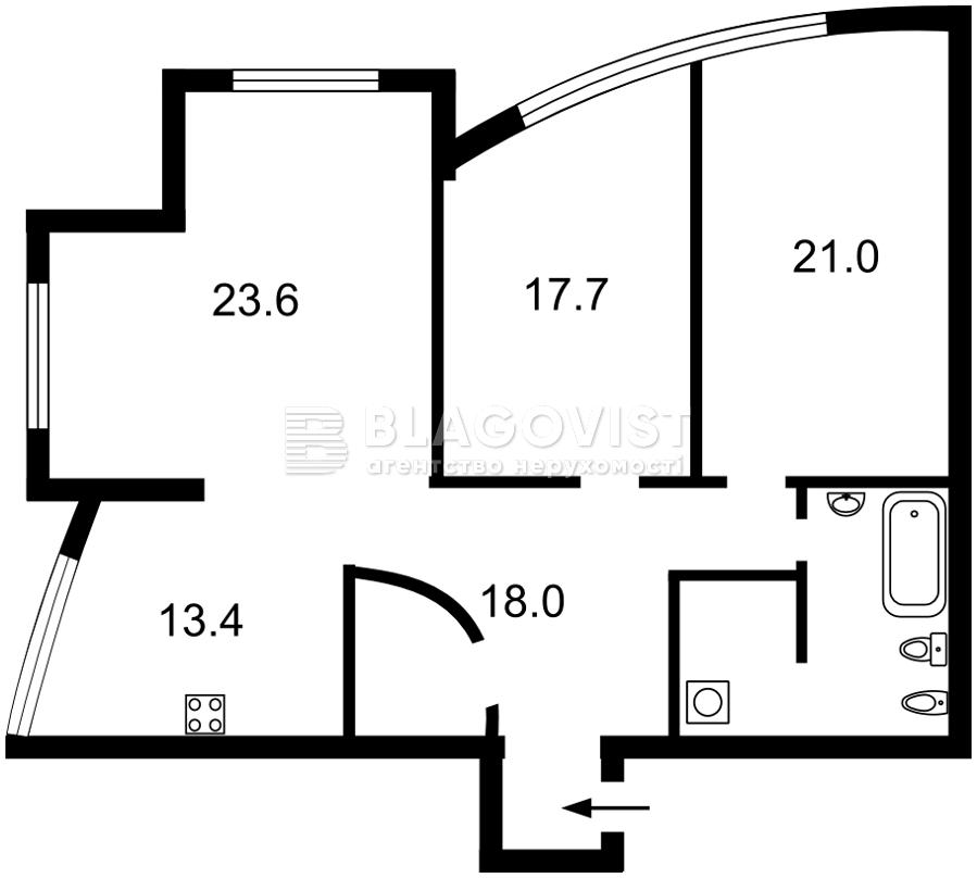 Квартира R-39148, Дмитриевская, 82, Киев - Фото 5