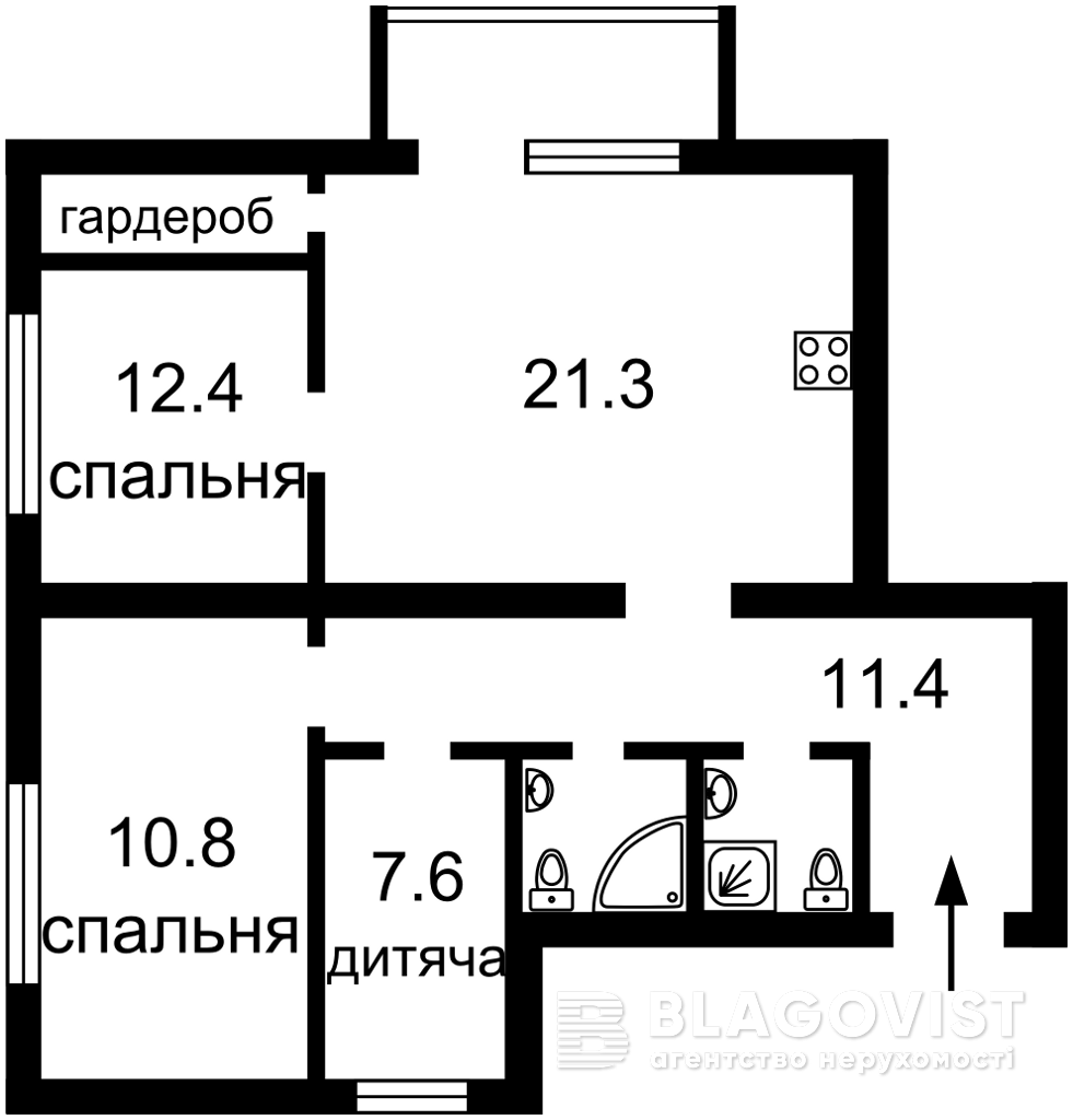 Квартира H-47229, Леси Украинки бульв., 24, Киев - Фото 7