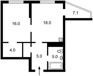 Квартира Z-778387, Бойчука Михаила (Киквидзе), 41-43, Киев - Фото 6