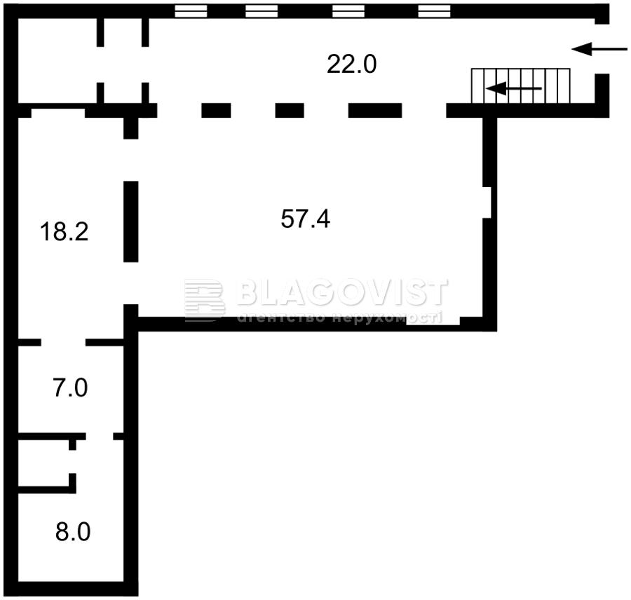 Нежитлове приміщення, Z-771854, В.Житомирська, Київ - Фото 3