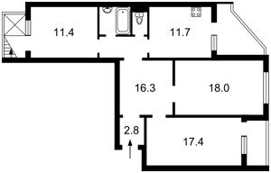 Квартира Милославская, 31б, Киев, P-29771 - Фото2
