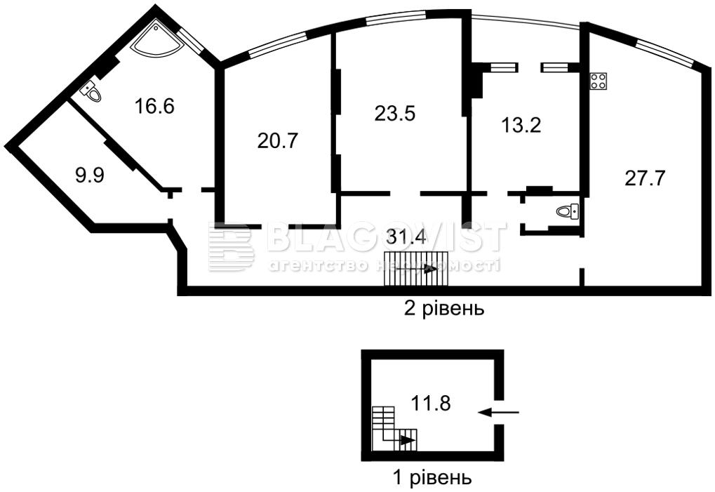 Квартира M-38961, Коломыйский пер., 17/31а, Киев - Фото 6