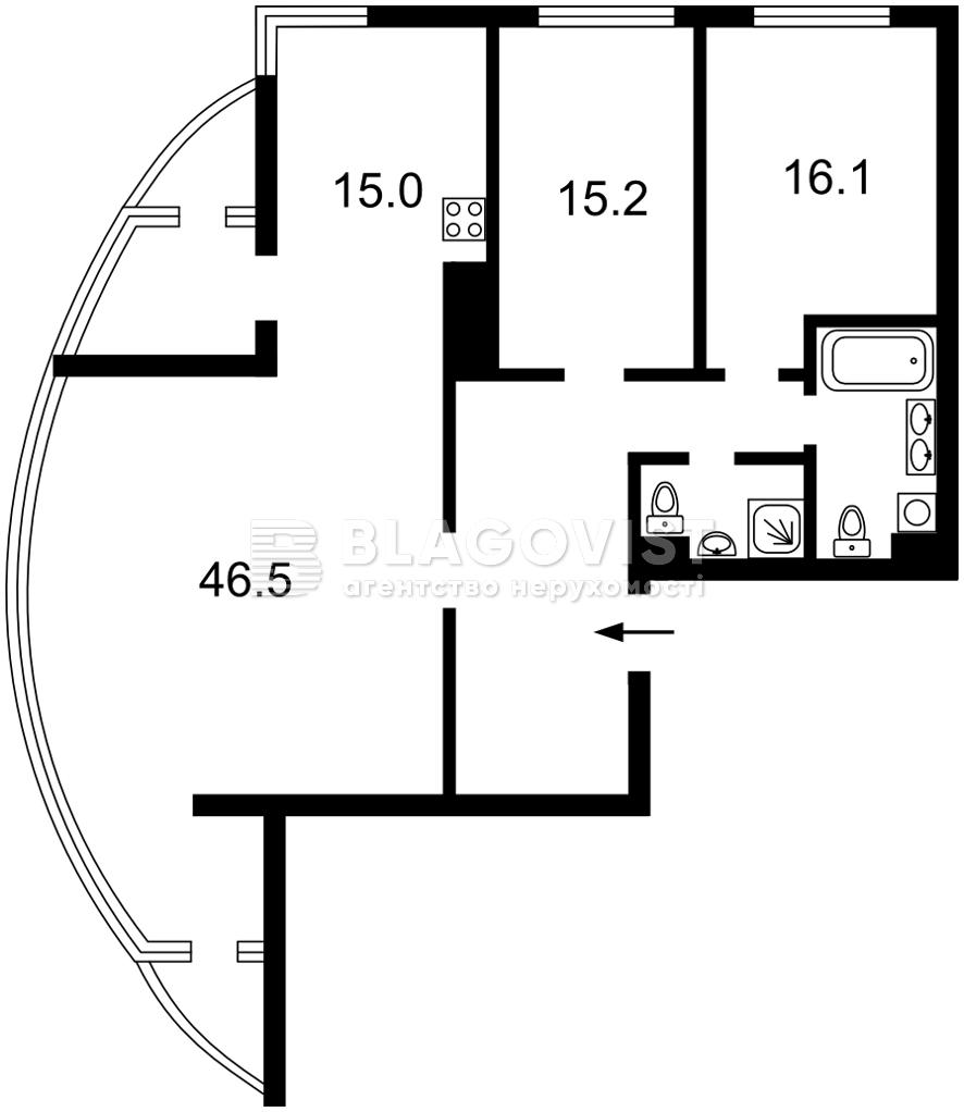 Квартира A-112314, Заречная, 1б, Киев - Фото 8