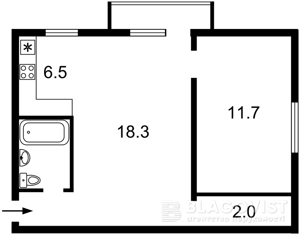 Квартира Z-717964, Чигорина, 61, Киев - Фото 4