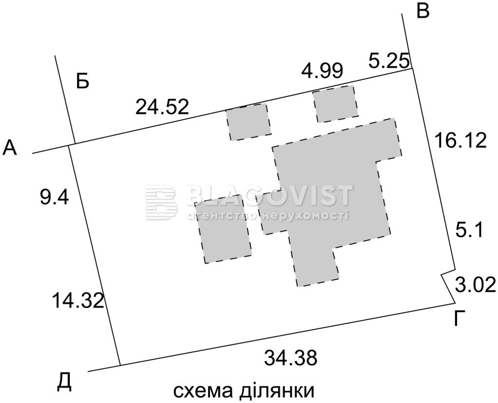 Земельный участок R-18264, Таврийский пер., Киев - Фото 2