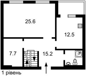 Квартира Глибочицька, 43 корпус 1, Київ, Z-753792 - Фото2