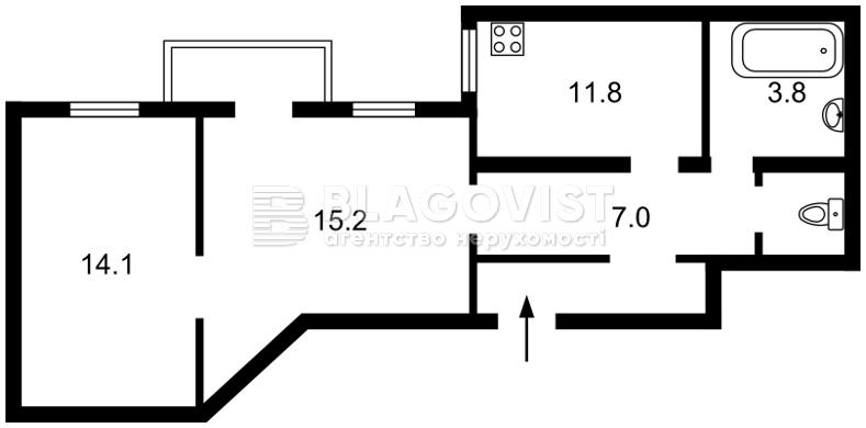 Квартира Z-753903, Владимирская, 65, Киев - Фото 2
