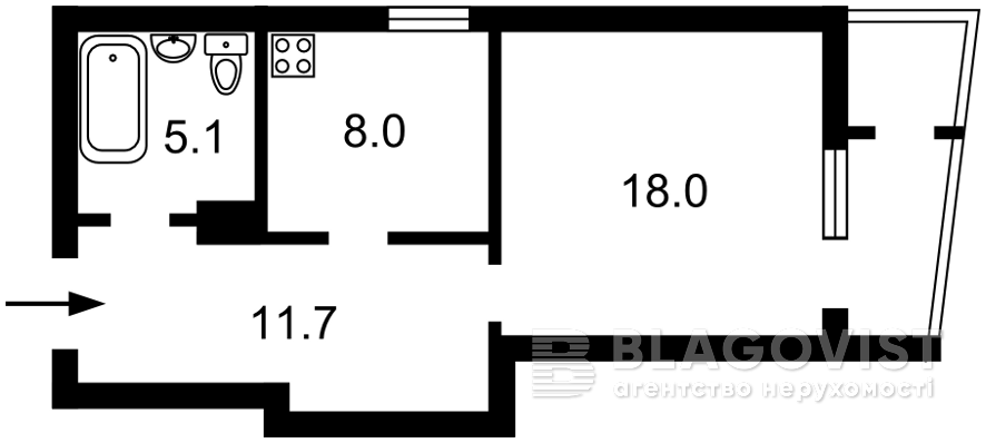 Квартира H-50173, Багговутовская, 1г, Киев - Фото 4