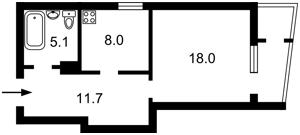 Квартира Багговутовская, 1г, Киев, H-50173 - Фото2