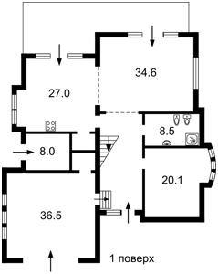 Будинок Ходосівка, Z-592347 - Фото 1