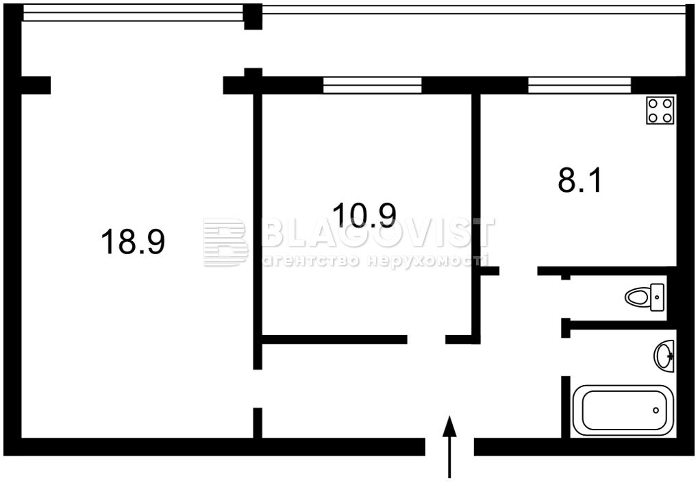 Квартира D-37218, Василевской Ванды, 6, Киев - Фото 3