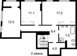 Квартира Надднепрянское шоссе, 2а корпус 3, Киев, Z-783211 - Фото3