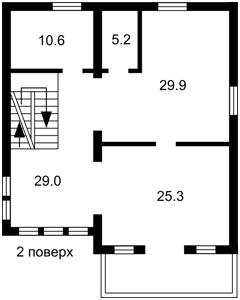 Дом Советская, Гатное, R-39106 - Фото 3