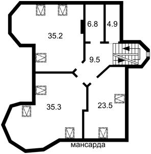 Будинок Бурмистенка пров., Київ, E-41076 - Фото 5