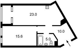 Квартира Победы просп., 11 корпус 2, Киев, Z-761597 - Фото2