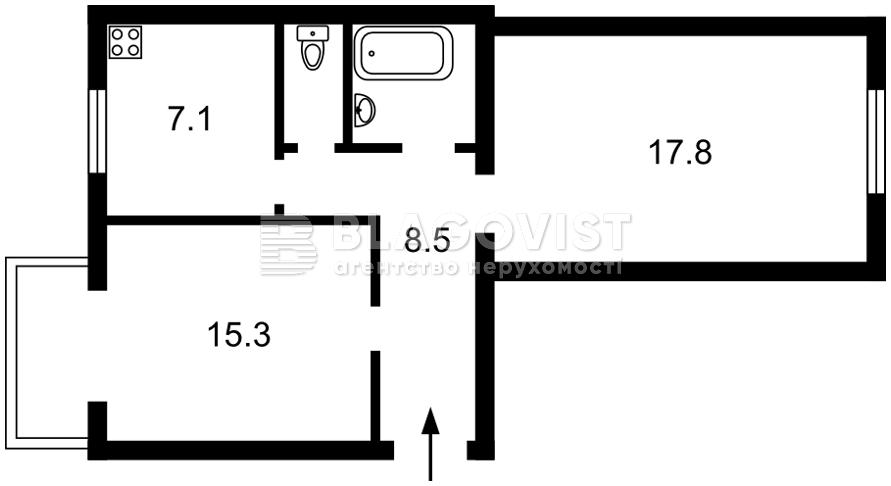Квартира C-109477, Волынская, 17/28, Киев - Фото 2