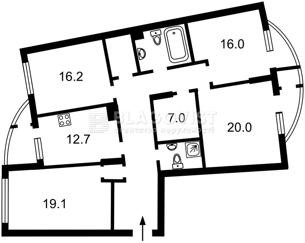 Квартира Z-697204, Днепровская наб., 25, Киев - Фото 7