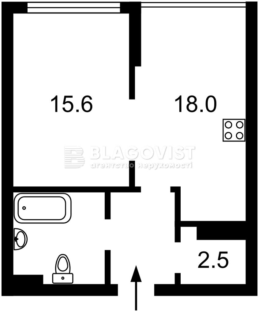 Квартира A-112350, Большая Васильковская, 139 корпус 12, Киев - Фото 3