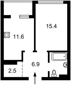 Квартира Z-777075, Предславинская, 55, Киев - Фото 5