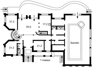 Будинок Лебедівка (Вишгородський), R-39619 - Фото