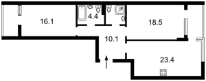 Квартира Большая Васильковская, 139 корпус 12, Киев, P-29840 - Фото2