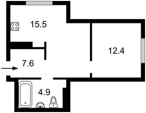 Квартира Богданівська, 7в, Київ, R-39646 - Фото2