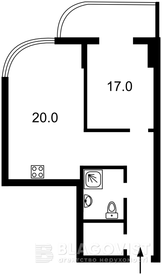 Квартира H-50223, Драгомирова Михаила, 2а, Киев - Фото 7