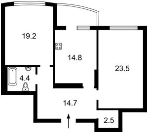Квартира Голосеевская, 13, Киев, C-109588 - Фото 2