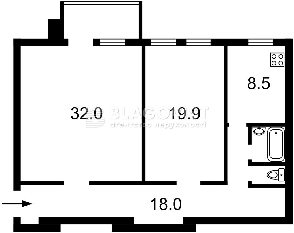 Квартира P-29872, Андреевская, 9, Киев - Фото 4