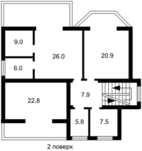 Будинок Ворзель, X-31358 - Фото 4