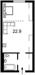 Квартира Z-789117, Максимовича Михаила (Трутенко Онуфрия), 24б, Киев - Фото 5