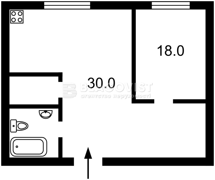 Квартира M-39094, Трускавецкая, 4б, Киев - Фото 4